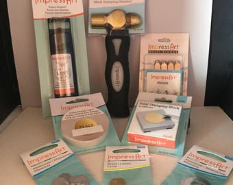 Impress Art Metal Stamping Kit