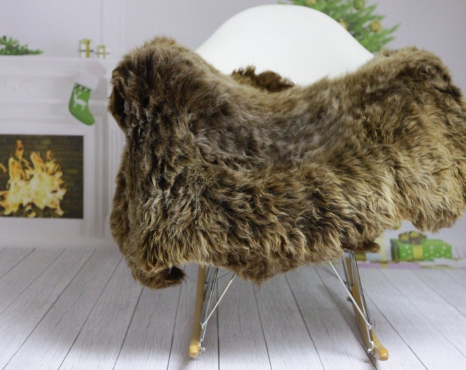 Winter Collection   Sheepskin Rug   Cristmas Decor   Christmas Home   Shaggy Rug   Chair Cover   Area Rug   Brown Rug   Carpet    #HERZIM31