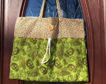 Feathery Owl Quick & Easy Tote Bag