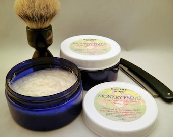 MONKEY FARTS Tallow & Shea Butter Shaving Soap 5 Oz