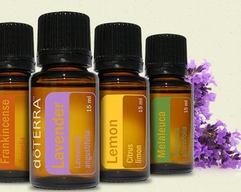 Emergency survival essential oil pack