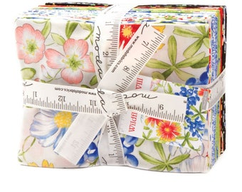 Moda WILDFLOWERS VIII 19 Fat Quarter Bundle 33220AB Quilt Fabric