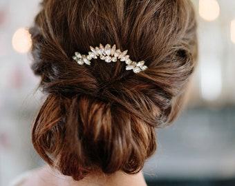 SUNBURST art deco glamorous bridal comb, vintage style glam wedding hairpiece