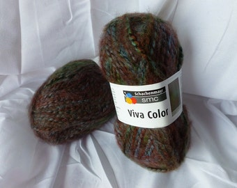 Yarn Sale  -  Maroon, Purple and Green  81 Viva Color by SMC Schachenmayr