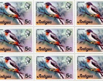 Bird Stamps/50 Unused Stamps/ Stamps From Antigua