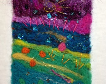 Riverdays - Felted Art work