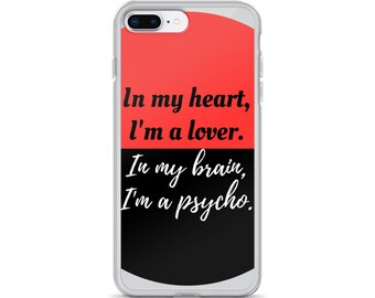 Lover/Psycho iPhone Case