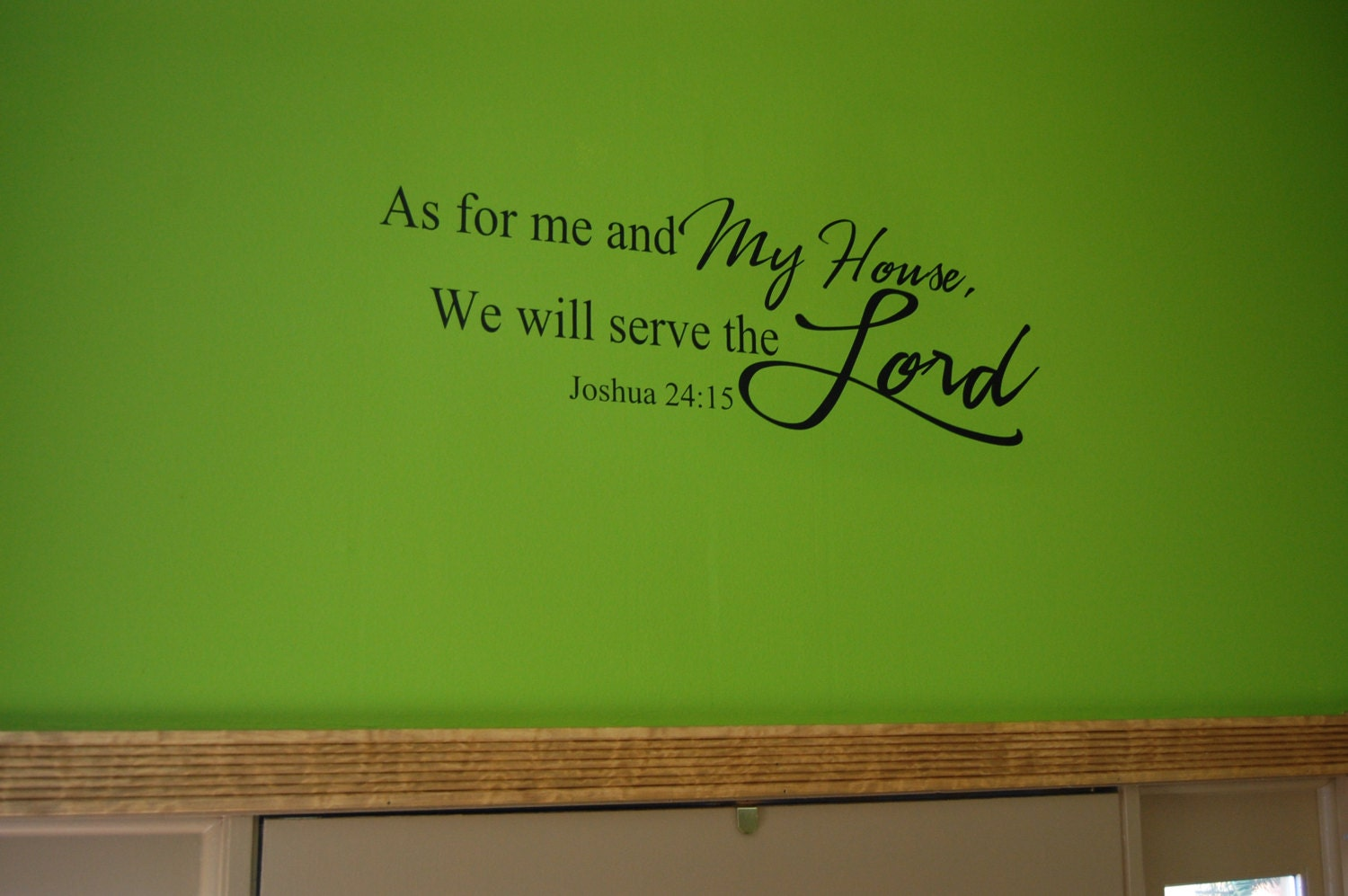 Laundry Room Quotes For Walls Fair Bible Verse Wall Decal Family Quote Decal Laundry Room Design Inspiration