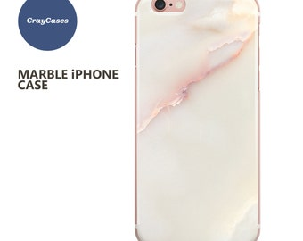 White/pink Marble iPhone 6s Case, Marble iPhone 6s Plus Case, Marble iPhone 7 Case, Marble iPhone 6 Plus Case (Shipped From UK)