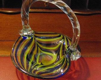 Murano Glass Basket