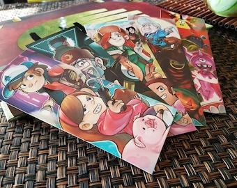 Gravity Falls Bookmarks