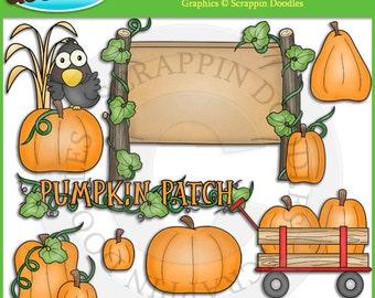 Pumpkin Patch Clip Art