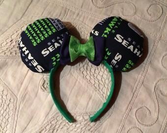 Unique Seattle Seahawks Ears headband