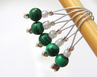 Destiny - Five Snag Free Stitch Markers - Fits Up to 6.0 mm (10 US) - Open Edition