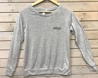 Namaste Long Sleeve Slouchy T