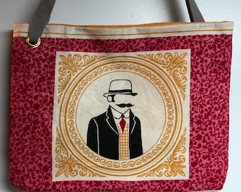 Mysterious Gentleman tote