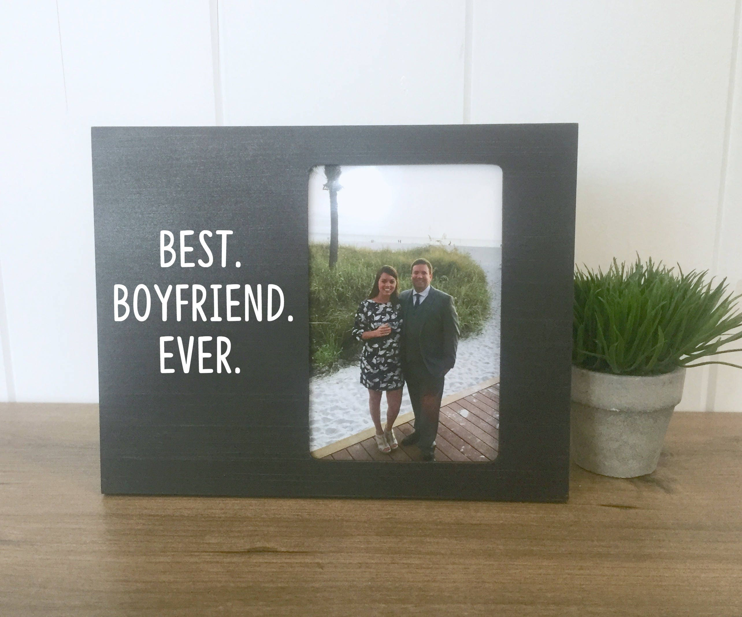 Picture Frame for Boyfriend, Boyfriend Valentine\'s Day Gift, Best ...