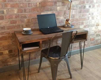 industrial style office furniture. Rustic Handmade Industrial Style Vintage Retro Office Desk Console Table With Metal Hairpin Legs Furniture L