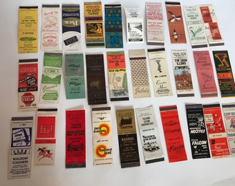 Matchbook Collection 1950s