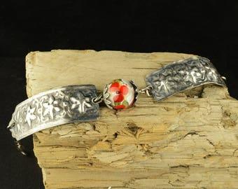 Stamped Sterling Silver Everyday Bracelet