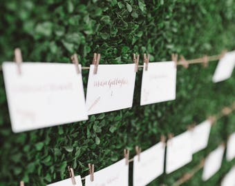 Handwritten Place Cards