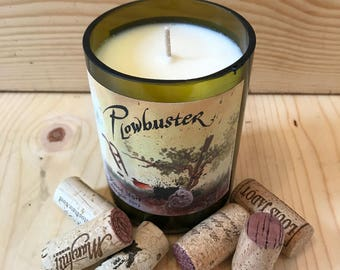 Plowbuster Pinot Noir Candle