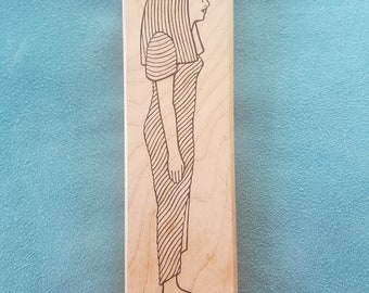 Judi Kins - Egyptian Queen - Rubber Stamp