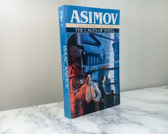 The Caves of Steel by Isaac Asimov (Bantam Paperback)