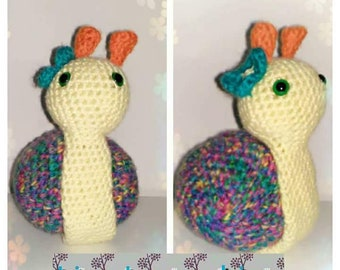 Lumaca Amigurumi/ Snail Amigurumi, lumaca uncinetto, snail crochet,amigurumi