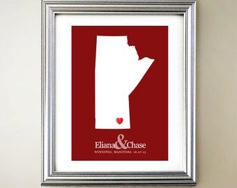 Manitoba gift etsy more colours manitoba custom negle Choice Image