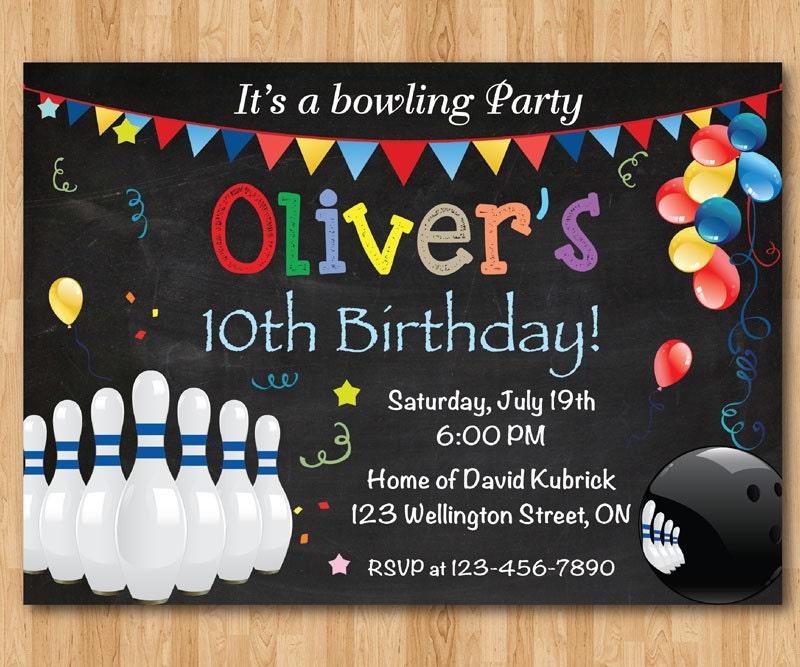 95+ 10th Birthday Party Invitations Boy - 169 Best Kids Birthday ...