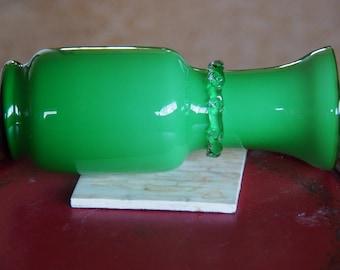 Green Vase Glass
