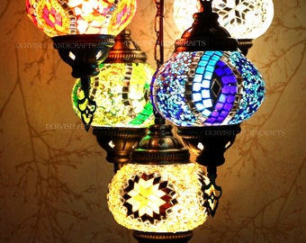 Turkish lamp, hanging lamp, lampshades ceiling light, chandelier lighting,  fairy lights, moon lamp, lampshade