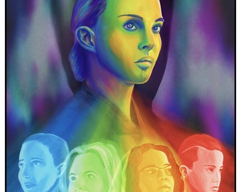 Annihilation Illustrated Movie Poster