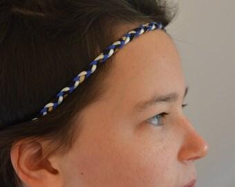 Headband bleu éléctrique