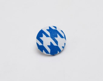 "The ""Hound's Wisdom Tooth"" Hounds-tooth Lapel Button"