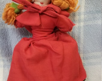 Little Red Riding Hood reversible doll