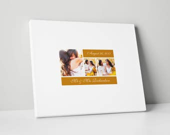 Canvas Guest Book, Various Sizes, Wedding Guest Book Alternative, gb0075