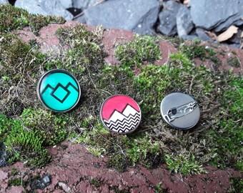 Twin Peaks pin / badges