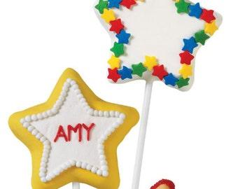 Wilton Star Cookie Pop Pan