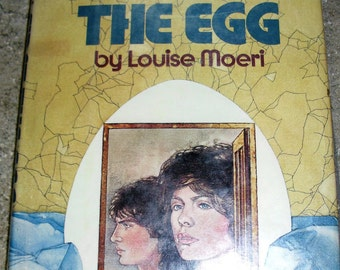 Vintage Book First The Egg by Louise Moeri