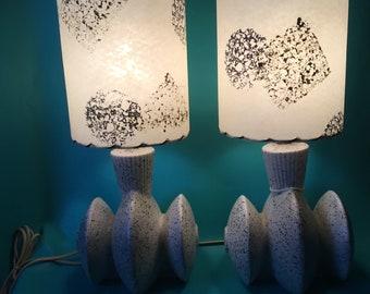 1950s Boudoir Lamps