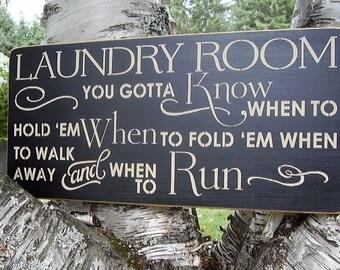 Laundry Sign, Laundry Room Sign, Laundry Room Decor, Wood Laundry Sign, Laundry Decor, Farmhouse Laundry, Farmhouse Decor, Rustic Signs,