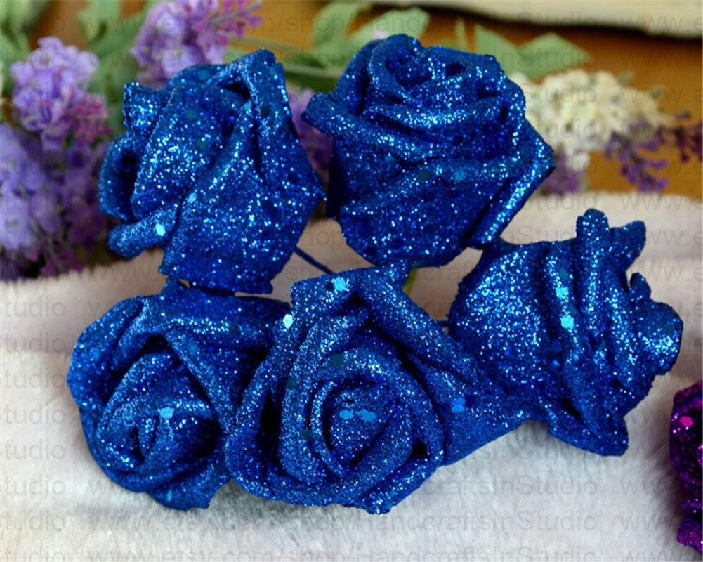 Fantastic Flower Kissing Balls Wedding Vignette Blue Wedding Color