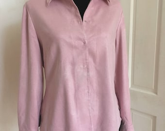 Dream Pink Vintage Winter Blouse