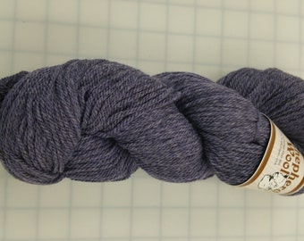 Shepherd's Wool - Worsted Spun Fine Wool - Color #031218 Pansy