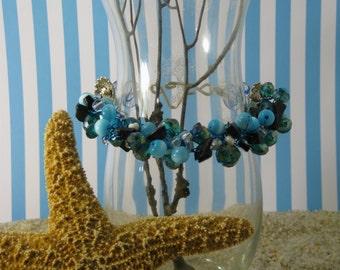 Mermaid's Tail Wire Crochet Bracelet