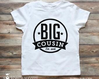Big Cousin Shirt - Personalized Big Cousin Shirt - Big Cousin Raglan Shirt - Big Cousin T Shirt - Im Going to be a Big Cousin
