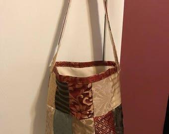 Patchwork Handbag Tote