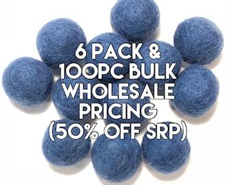 Single Color Pack - PATRIOT BLUE Felt Balls